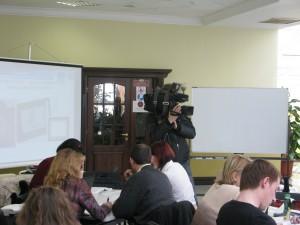 Видеозапись на семинаре-тренинге