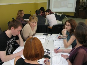 работа в группах при обучении ТРИЗ