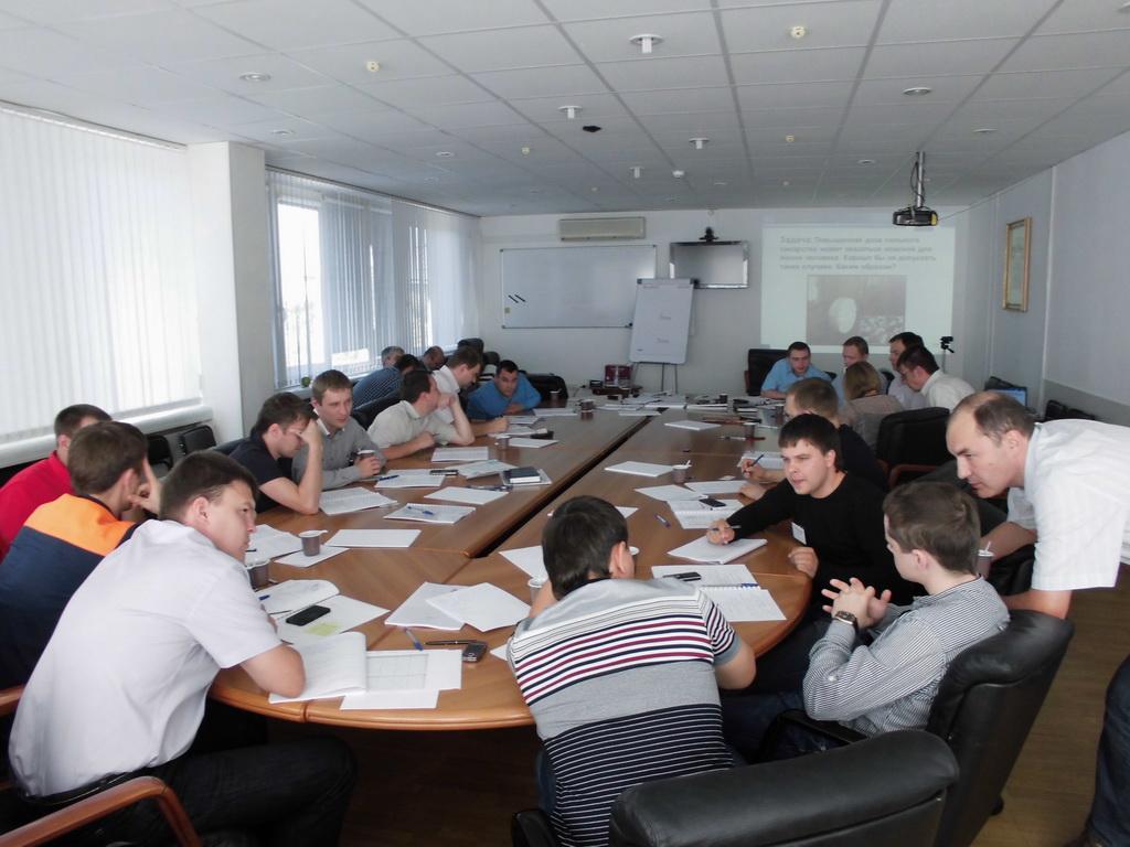 Аудитория ТРИЗ в Бизнесе Челябинск Август 2013