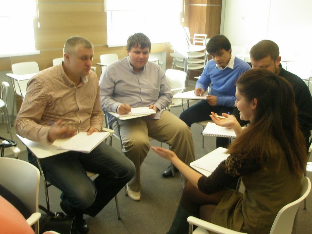 ТРИЗ обсуждение на тренинге Тимохова и Бубенцова