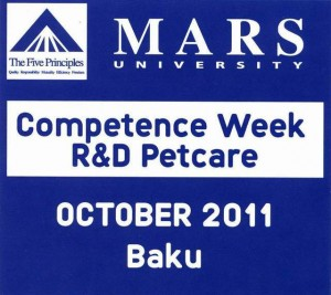 Mars Competence Week R&D Petcare