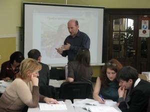 В.Бубенцов на семинаре-тренинге