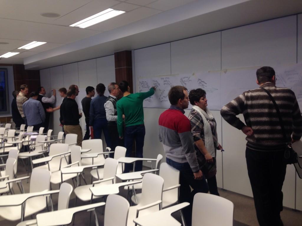 обучающее мероприятие по ТРИЗ в Калуге 2014
