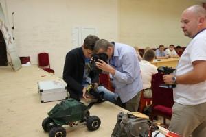 тестируется робот в Пензе 2016
